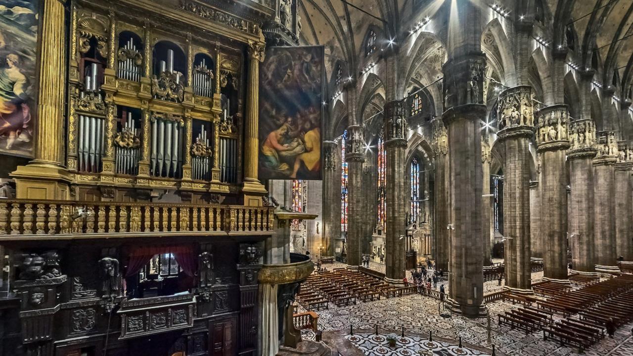 Grande Organo Del Duomo Di Milano2