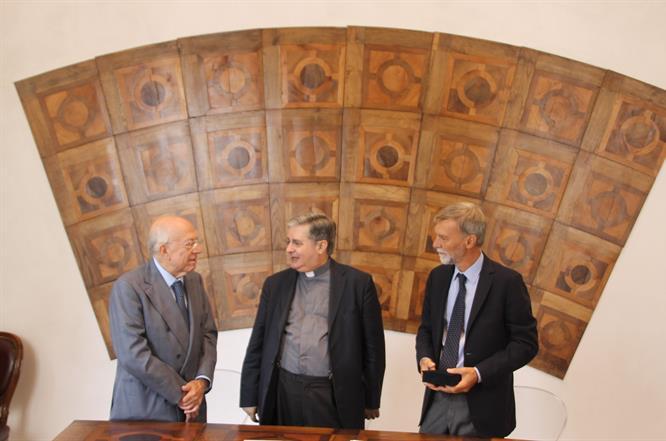 Ministro Delrio In Archivio