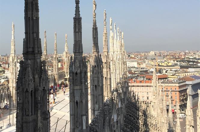 Terrazze e Guglie Duomo per visite guidate
