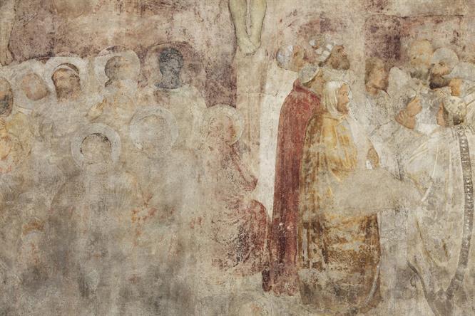 ZINGARDI La Crocifissione, Chiesa Di San Gottardo In Corte
