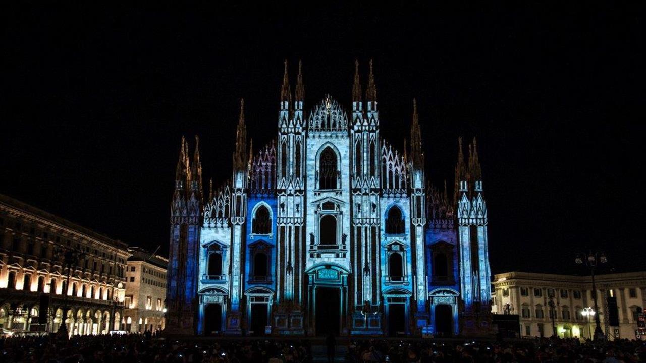 Alessandro Gandolfi Video Mapping Sulla Facciata Del Duomo, Luglio 2015