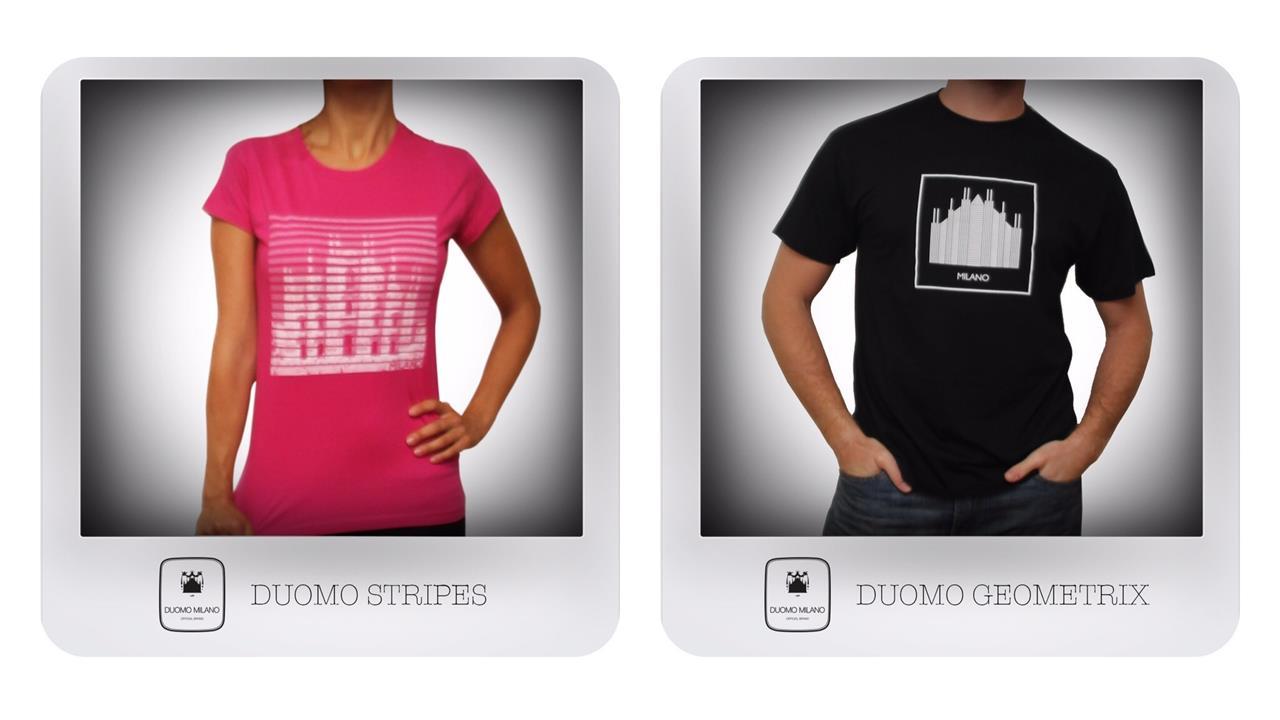 a3877b2676cf5 Al Duomo Shop arrivano le T-shirt - Duomo di Milano