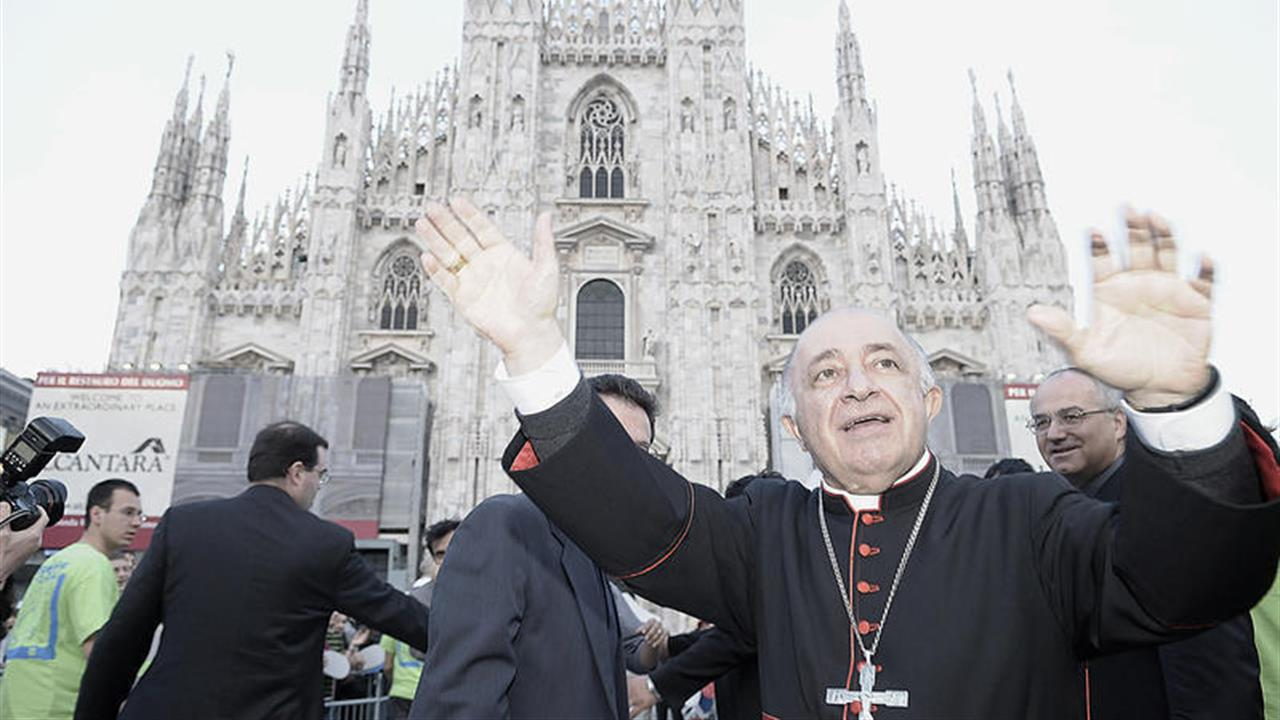 Tettamanzi a Milano
