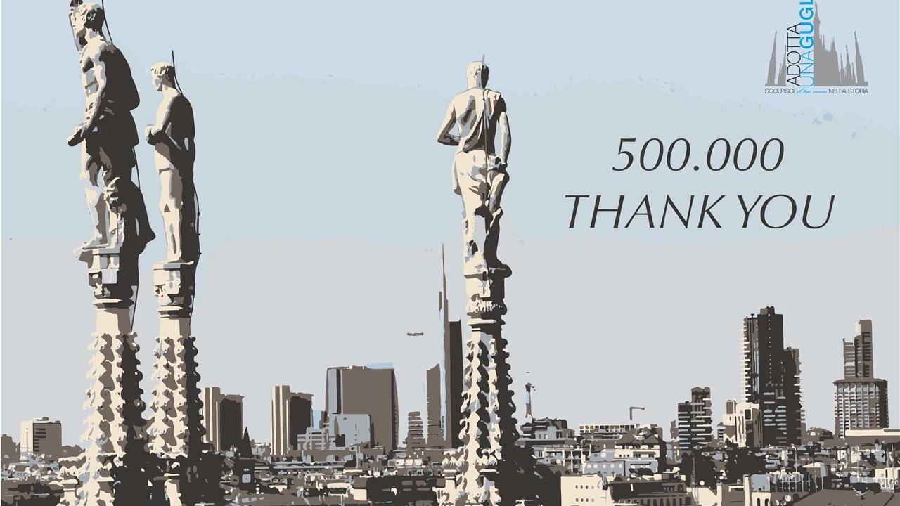 Ringraziamento Donatori Inglese