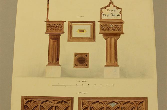 Giuseppe Vandoni Disegno Archivio