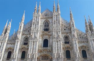 Facciata del Duomo di Milano